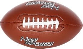 New Sports American Football, unaufgeblasen, ca. 38x22x22 cm, ab 5 Monaten