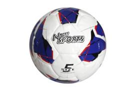 New Sports Fußball Größe 5, PU, handgenäht, unaufgeblasen