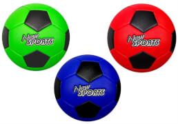 New Sports Fußball Größe 5, PVC, 3-fach sortiert, unaufgeblasen