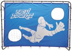 New Sports Fußballtor mit Torwand 213 x 152 x 76 cm
