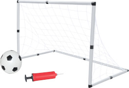 New Sports Fußballtor-Set, inklusive Ball und Pumpe