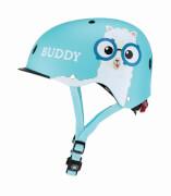 GLOBBER Helm Elite Lights XS/S, hellblau ''Buddy''