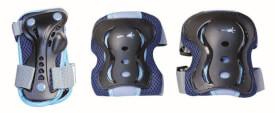 muuwmi Protektoren-Set blau Gr. S