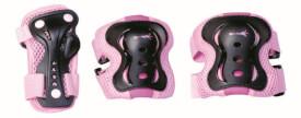 muuwmi Protektoren-Set pink Gr. S