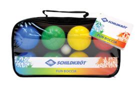 Schildkröt Funsports - FUN BOCCIA Set, 4x 2 Kunststoffkugeln + 1 Zielkugel