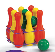 rollyToys Kegelspiel 27 cm Plastik in Tragebox