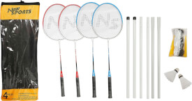 New Sports Badminton-Set Deluxe