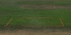 Talbot-Torro - Speedbadminton COURT LINES im Blister (neon orange)