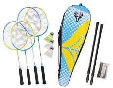 Talbot-Torro - Badminton-Set FAMILY 2Junior+2 Standardschläger,Thermobag