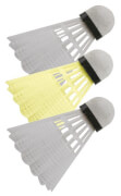 Talbot-Torro - Badminton-Ball TECH 150, 3er Dose (2x weiß / 1x gelb)