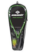 Talbot-Torro - SK Speedbadminton Set  Carrybag black / neon-green