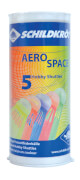 Talbot-Torro - SK Badminton Ball AERO SPACE, 5er Dose, farbig gemischt