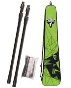 Talbot-Torro - Badminton-Zubehör TELESKOP-NETZ-SET (höhenverstellbar 125-155cm)