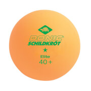 Donic-Schildkröt - TT-Ball 1-Stern ELITE 40mm 3er orange ABS