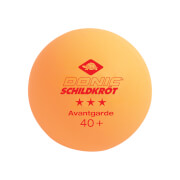 Donic-Schildkröt - TT-Ball 3-Stern AVANTGARDE 40+ ABS orange