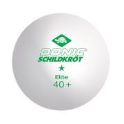 Donic-Schildkröt - TT-Ball 1-Stern ELITE 40+ 3er weiß ABS