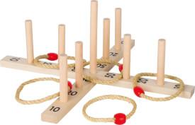 GoKi Ringwurfspiel mit 5 Sisalringen