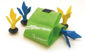 Schildkröt Funsports - OGOSPORT Copter Darts, (2x 2 Darts 160mm + Tasche im Karton)