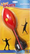 New Sports Wurfrakete mit Heuler, Länge 30cm