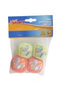 New Sports Neopren Wassersprungball, 4 Stück, # 4,5 cm