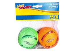 New Sports Neopren-Wurfbälle, 2-fach sortiert