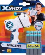 X-SHOT Micro inkl. 8 Pfeilen, Reichweite ca. 24 m, ab 8 Jahre