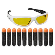 Hasbro E9836EU4 Nerf Ultra Vision Gear Brille + 10 Darts