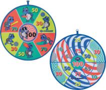 Schildkröt Funsports - Soft Dart Set, Klett-Dartscheibe mit 2 x 3 Bällen