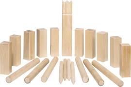 GoKi Wikingerspiel Kubb, mittlere Größe, im Baumwollbeutel