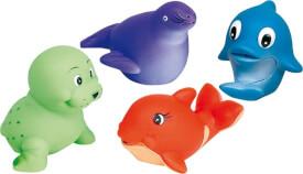 GoKi Wasserspritztiere, Wal, Walross, Delfin,