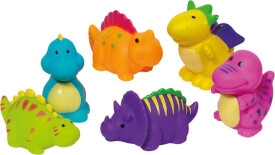 GoKi Wasserspritztiere Dinosaurier