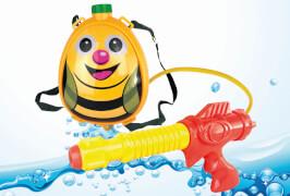 sunflex WASSERSPRITZER RUCKSACK BEE KIDS