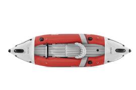 INTEX Boot ''ExcursionPro Kayak K1'' Set mit Alu-Paddel + Pumpe #68605, bis 100Kg, 305x91x46cm