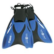 Aqua Lung Schwimmflossen Flame Größe 33 - 36 blaumetallic