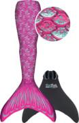 Fin Fun Meerjungfrau Mermaidens pink S/M
