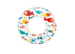 Intex Schwimmring ''Lively Print'' 3-6 Jahre, 3 fach sort., # 51cm