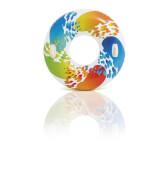 Intex Schwimmreifen ''Color Whirl'', ab 9 Jahre, 2 Griffe, # 122cm