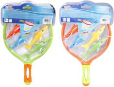 Splash & Fun Kescherspiel mit Fischen, 6 Stück, sortiert