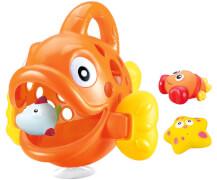 JAMARA 460614 Badespielzeugsammler Hungry Fish orange
