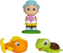 CoComelon - Badespaß Freunde JJ, Fisch & Schildkröte