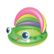 Planschbecken mit abnehmbarem Sonnendach 109x104cm ''Froggy Play Pool''