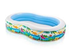 Intex Swimcenter ''Paradise'', Wasserbedarf ca. 640 l, Ablassventil, 262x160x46cm