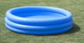 Intex Pool 3-Ring ''Crystalblue'', Wasserbedarf ca 330l, empfohlen ab 2 Jahre, 147x33cm