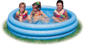 Intex Pool 3-Ring ''Crystalblue'', Wasserbedarf ca 581l, ab 2 Jahre, 168x38cm