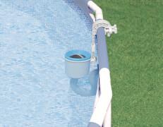 Oberflächenskimmer ''Deluxe'', für Filterpumpe mit mind. 3.785 l/h Pumpleistung, für Pools ab 549cm