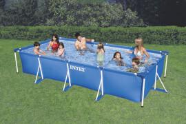 Rectangular Frame Pool, Wasserbedarf ca. 7127 l