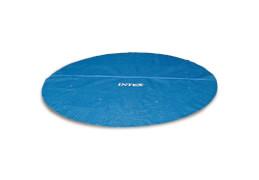 Solarabdeckplane für Easy & Frame Pool # 366cm, Fertigungsmaß: ca. # 348cm