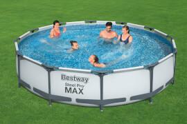 Steel Pro Max# Frame Pool-Set, rund, mit Filterpumpe 366 x 76 cm