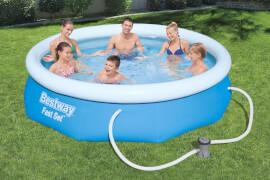 Fast Set# Pool-Set, rund, mit Filterpumpe 305 x 76 cm