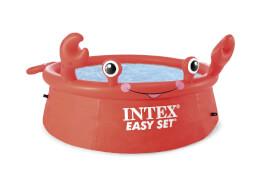 INTEX EasySet Pool ''HappyCrab'', Wasserbedarf ca. 880l, 183x51cm